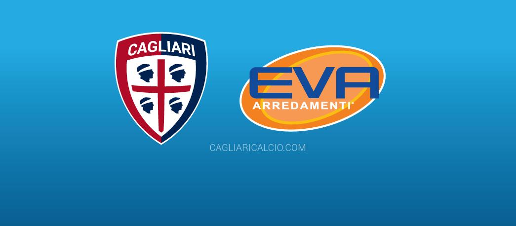 Eva Arredamenti e il Cagliari Calcio insieme