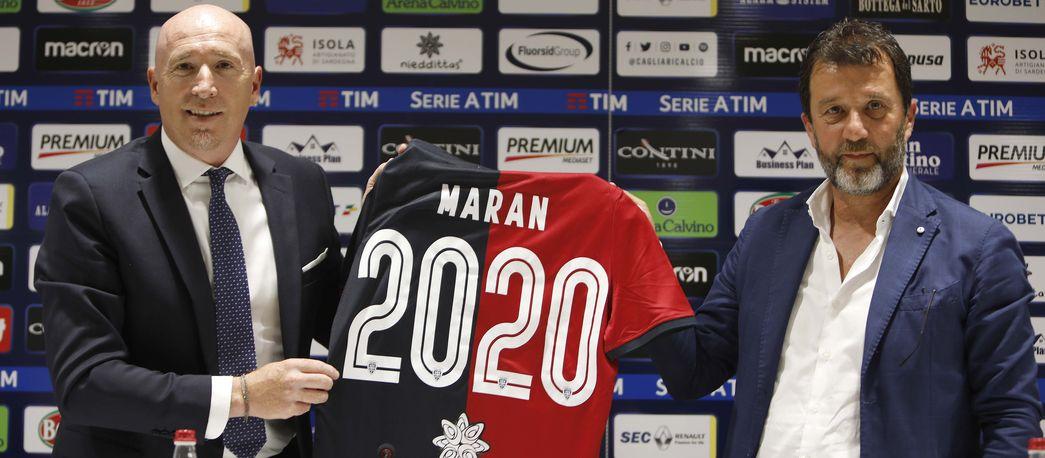 Ora è ufficiale: Rolando Maran è il nuovo allenatore del Cagliari.