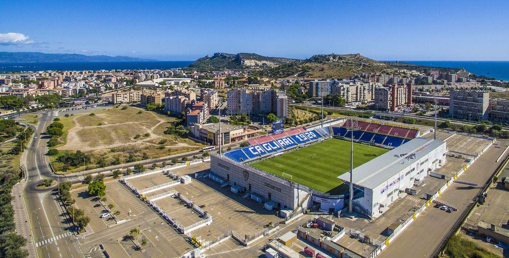Mappa Sardegna Zona Cagliari.Sardegna Arena Cagliari Calcio