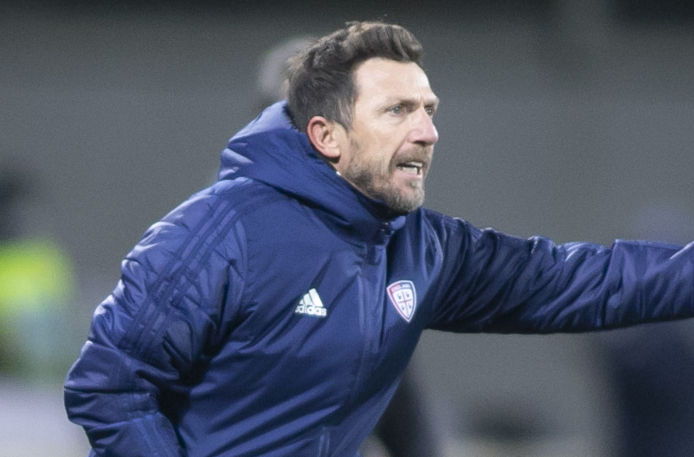 "Di Francesco: ""Tanta rabbia"""