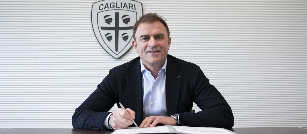 Semplici nuovo allenatore Cagliari