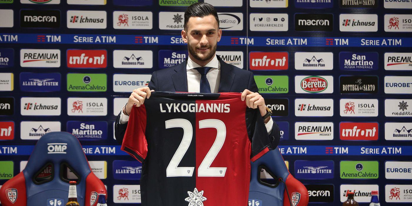 """Lykogiannis: """"Ho voluto solo il Cagliari"""" -Cagliari Calcio"""